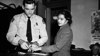Rosa Parks: courageous fighter for justice