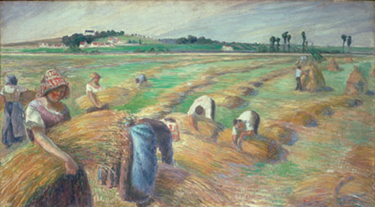 "Wells Fargo sponsors anarchist's art show: ""Pissarro's People"""