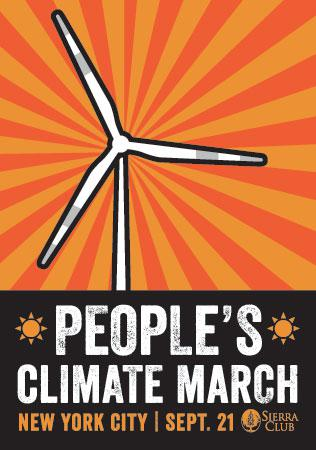 Connecticut labor, environmental, peace groups join together for People's Climate March