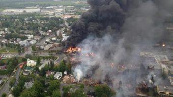 Prospective settlement in fiery Quebec oil train crash