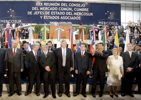 Mercosur promotes South American unity