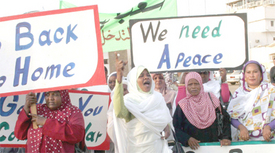 Sudanese strive for peace despite U.S. schemes