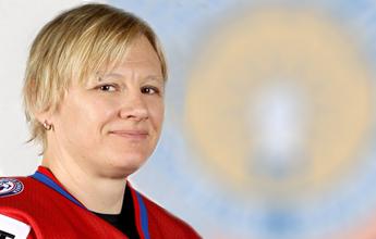 IBEW member hits the ice in Sochi