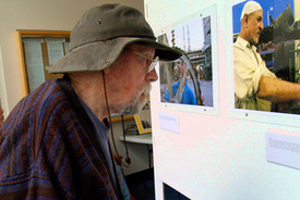 Local union hosts Iraqi worker photo exhibit