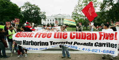 Marchers demand freedom of Cuban 5