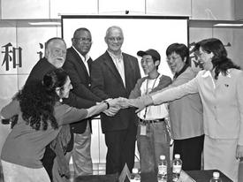 CPUSA leaders return from China, Vietnam