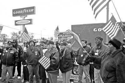 Rallies support Goodyear strikers