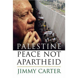 Carter condemns Israeli/U.S. policy toward Palestine