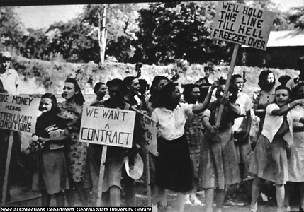 Today in Labor History: 1934 textile workers strike begins