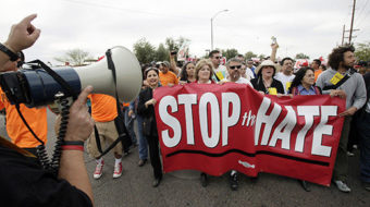 20,000 march to protest anti-immigrant sheriff