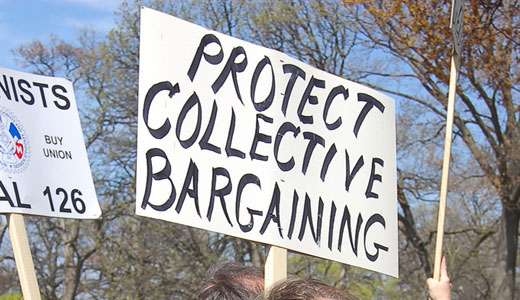 "Michigan attorney general: ""Collective bargaining initiative unconstitutional!"""