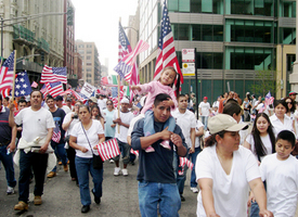 On May Day, call rings out for immigrant rights