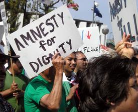 Senate debate on immigration begins