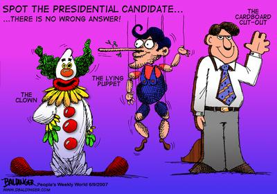 CARTOON: Candidates