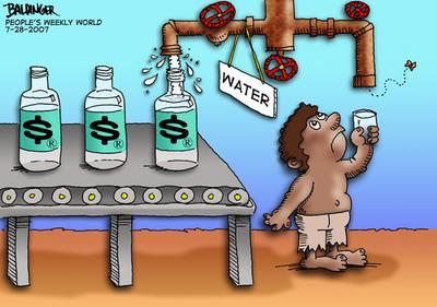 CARTOON: Water privatization