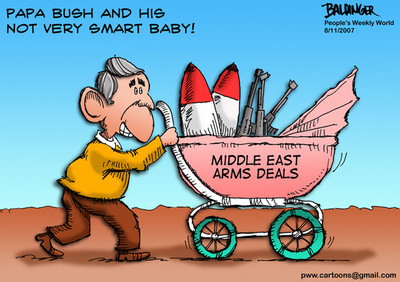 CARTOON: Bush's new baby
