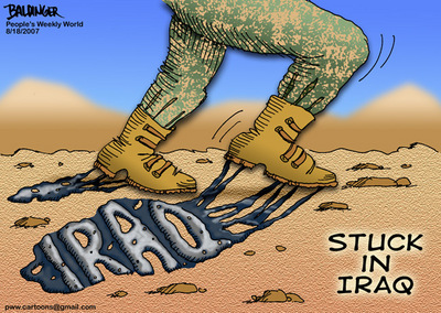 CARTOON: Stuck in Iraq