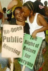 Katrina survivors march for justice