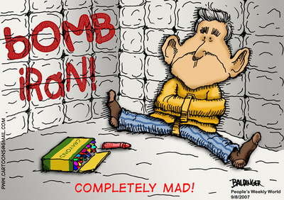 CARTOON: Completely mad!