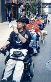 ADAPT confronts nursing home segregation