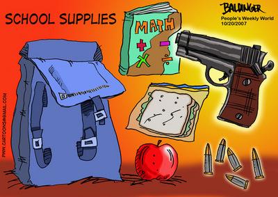 CARTOON: School supplies