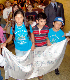 Children suffer in immigration raids