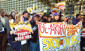L.A. unions set 2008 fight for good jobs