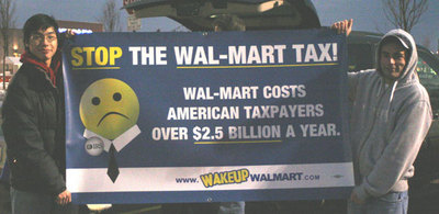 Clevelanders picket Wal-Mart