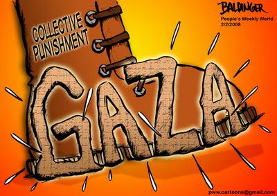 Cartoon: Collective punishment