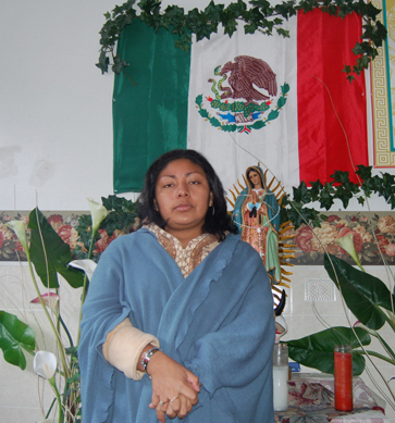 In sanctuary, Mexican mother fights for dignity