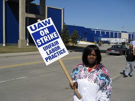 Front line news flash! Workers remain solid in American Axle strike