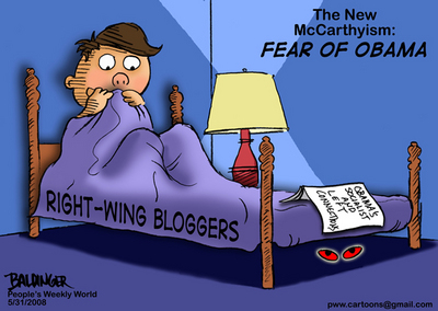 CARTOON: Fear of Obama