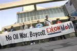 Texans urge boycott of ExxonMobil