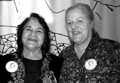 A red flame for justice: Dolores Huerta