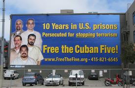 Billboard demands freedom for Cuban 5