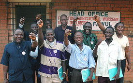 Liberian rubber workers win union