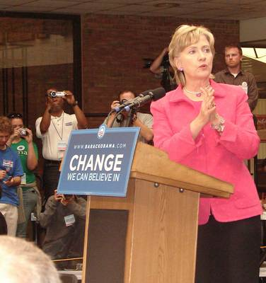 Hillary Clinton in Ohio: No way, no how, no McCain, no Palin