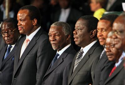 Zimbabwe welcomes power-sharing pact