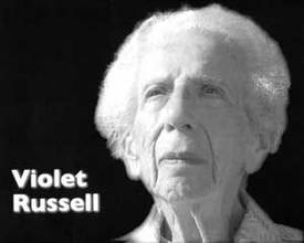 Violet Russell, 92, lifelong activist