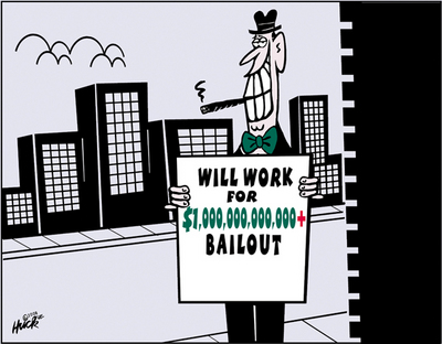 Will work for bailout