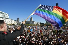 Gay rights rallies held across the nation