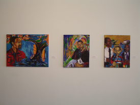 Art exhibit illustrates the role of religion in the struggle for survival among African Americans