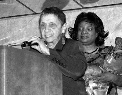 Bea Lumpkin honored