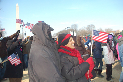 A day to remember: The inauguration of the 44th President of the United States of America