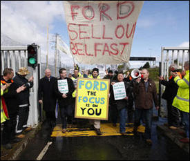Belfast backs Visteon workers' occupation