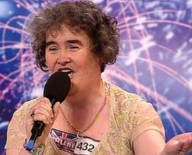 Why did Susan Boyle become a global phenom?