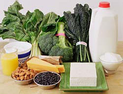 Calcium is key to strong bones for a lifetime