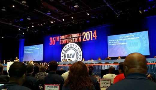 UAW faces big challenges at its 36th Constitutional Convention