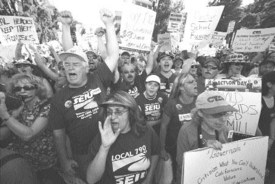 Calif. protesters to Arnold: Well be back