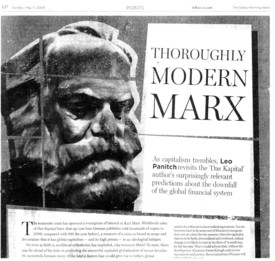 Marx taken seriously, at last!